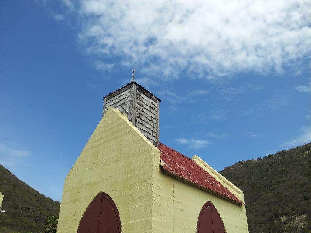 Church on Great Harbour, Jost Van Dyke