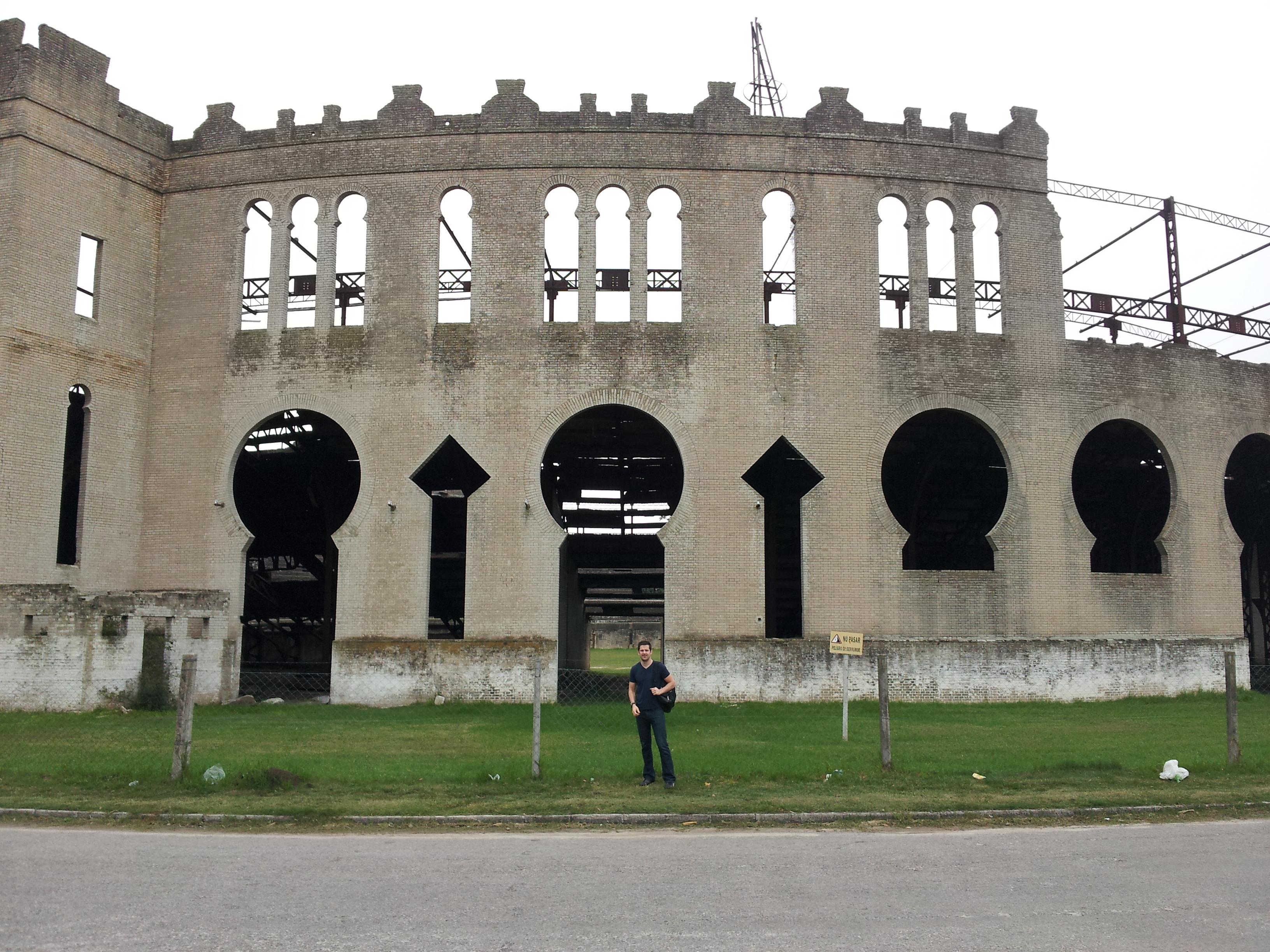 Colonia bullfighting ring