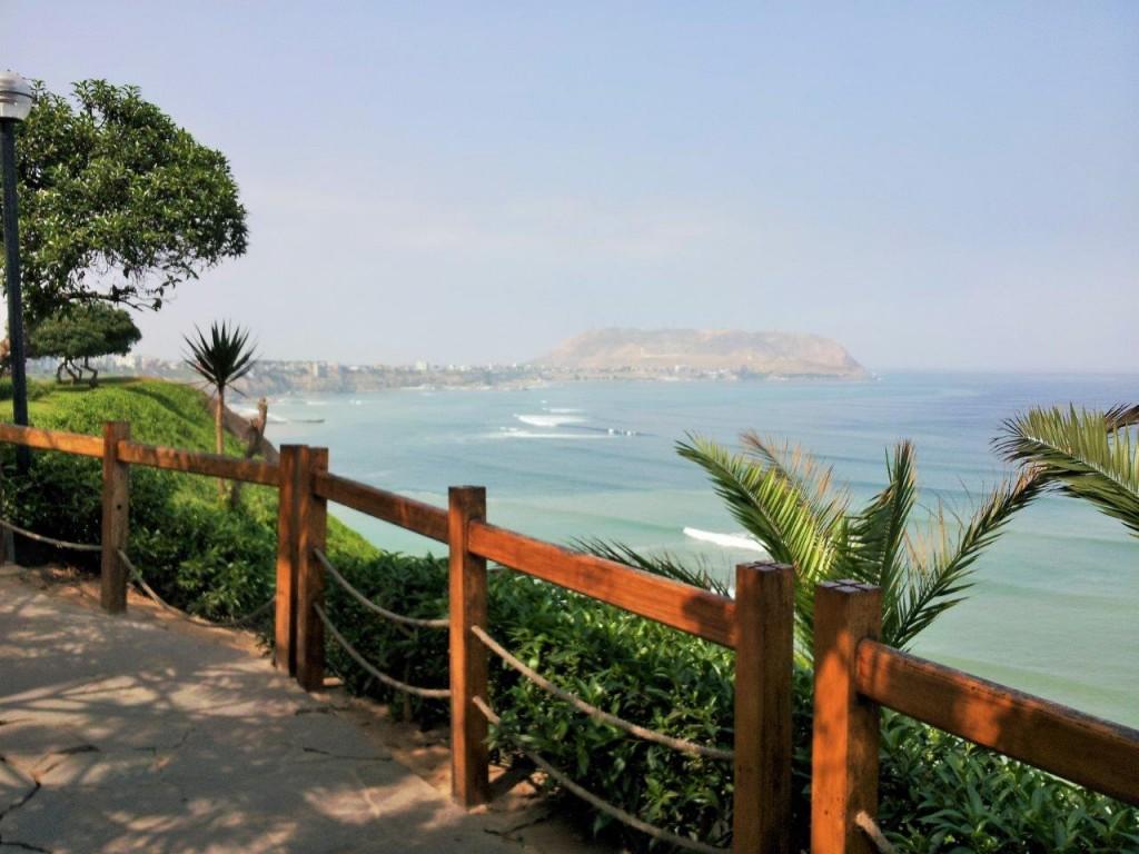 Miraflores coast