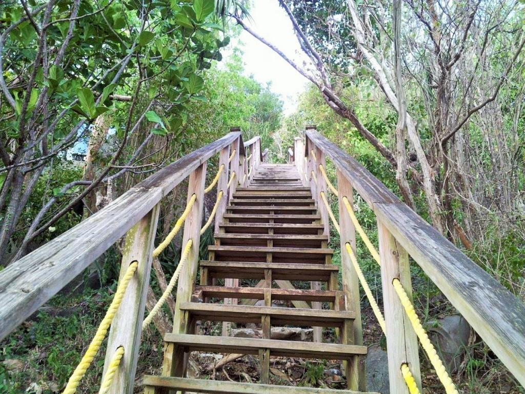 Platform Beach Steps, St Thomas