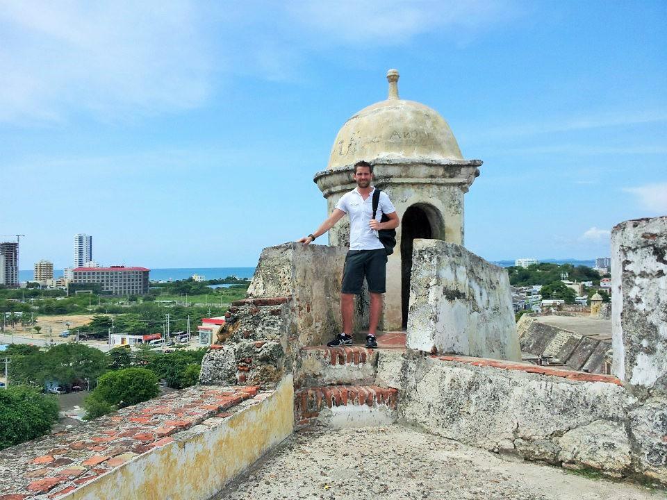 Jon Blomquist, Castillo de San Felipe