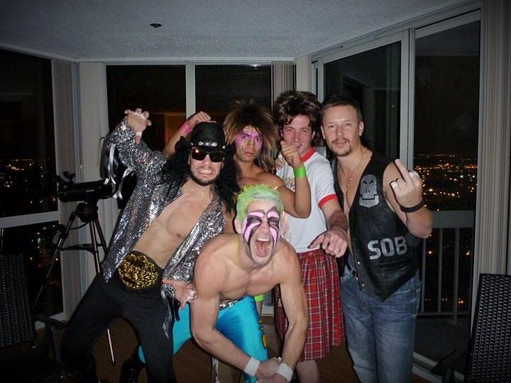 Jon Blomquist, Wrestle Mania!!