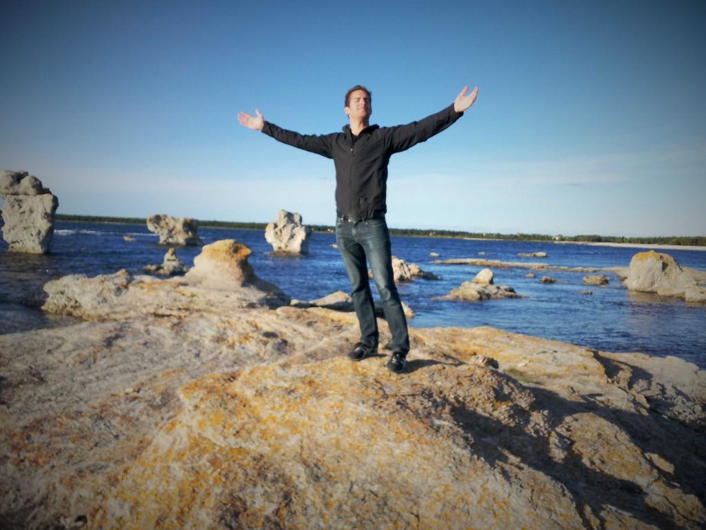 Jon Blomquist in Gotland, Sweden