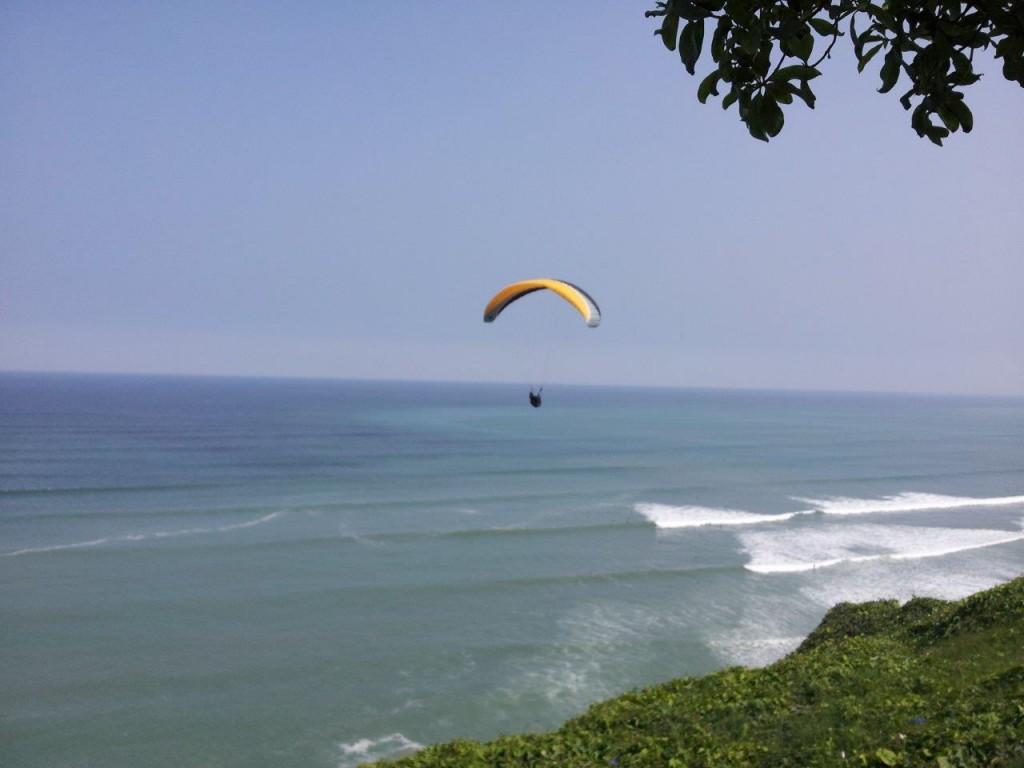 Coast of Lima Peru